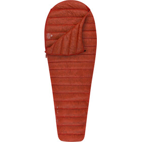 Sea to Summit Flame Fm0 - Sacos de dormir Mujer - Long rojo